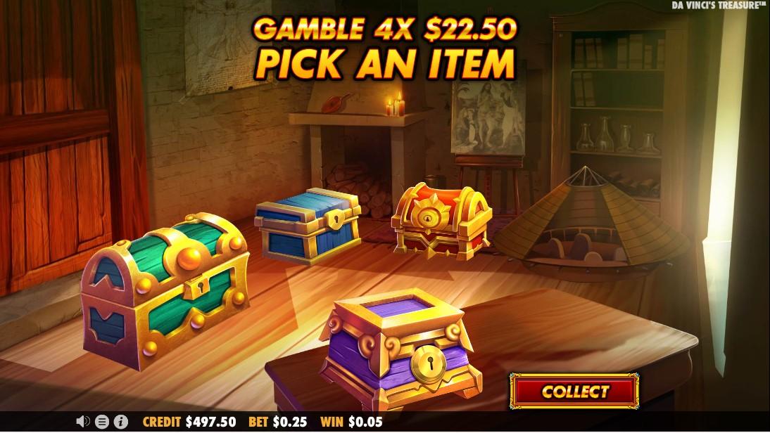 Da Vinci's Treasure онлайн слот