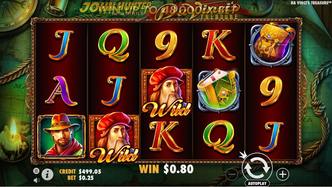 Игровой автомат Da Vinci's Treasure