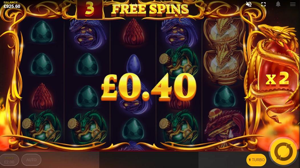 Бесплатный автомат Dragon's Fire