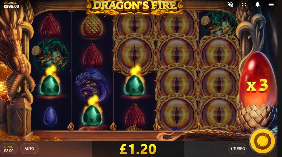 Dragon's Fire играть бесплатно