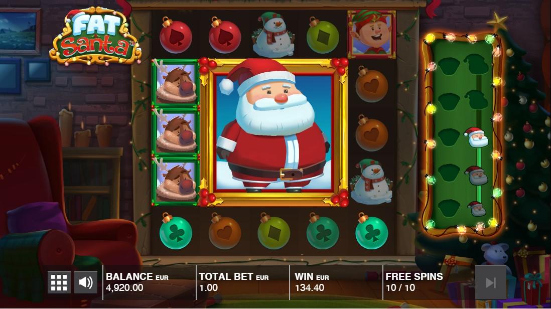 Fat Santa слот играть