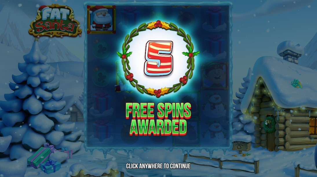 Fat Santa игровой автомат