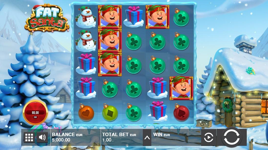 Играть бесплатно Fat Santa