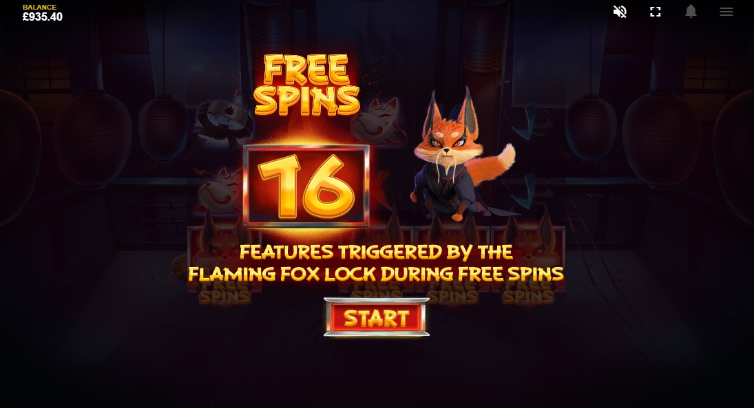 Играть Flaming Fox онлайн