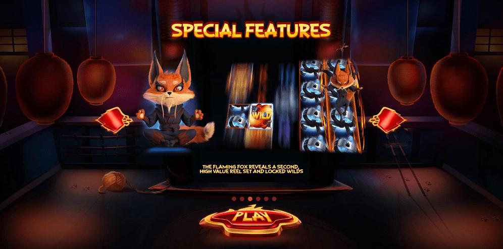 Игровой автомат Flaming Fox