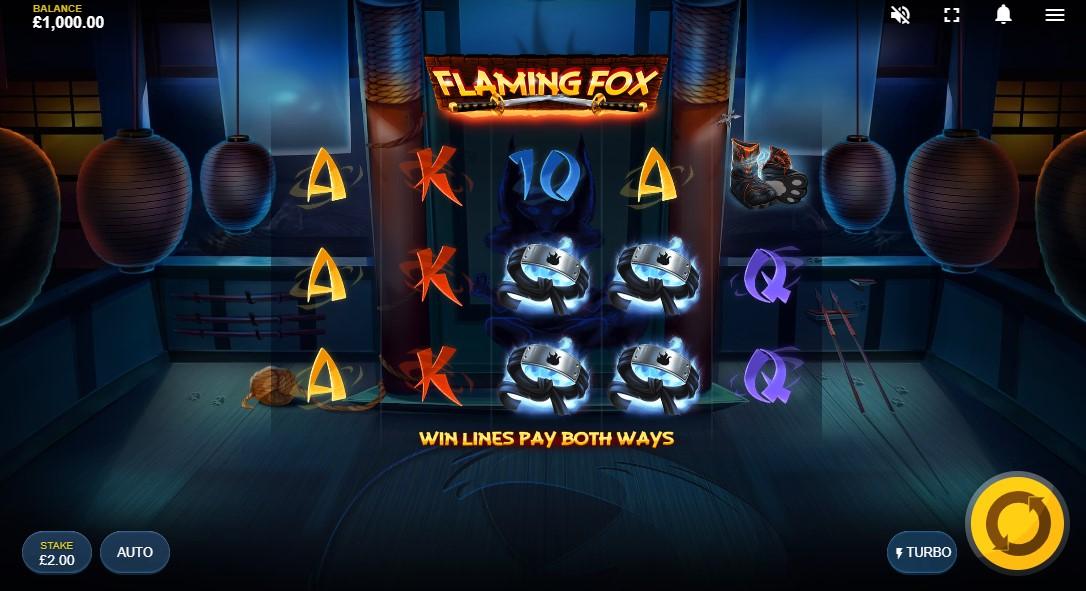 Flaming Fox играть