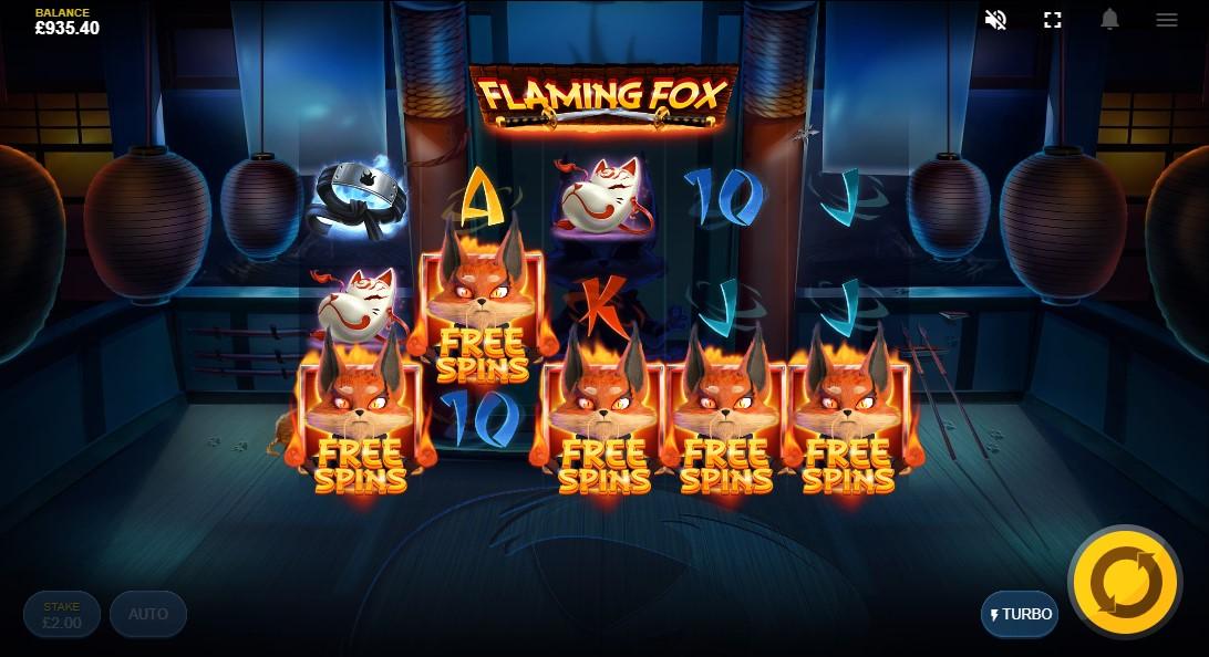 Flaming Fox бесплатный слот