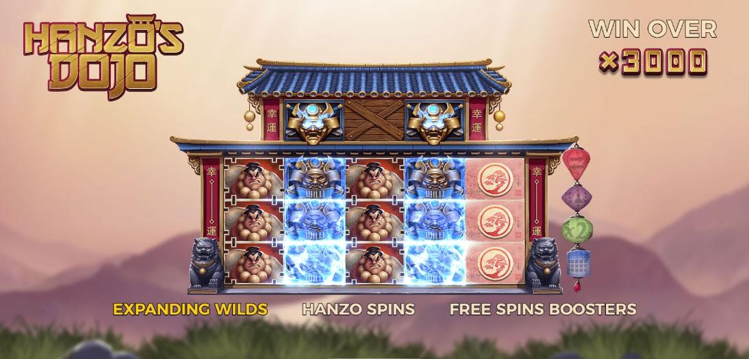 Играть бесплатно Hanzo's Dojo