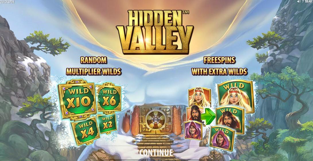 Игровой автомат Hidden Valley