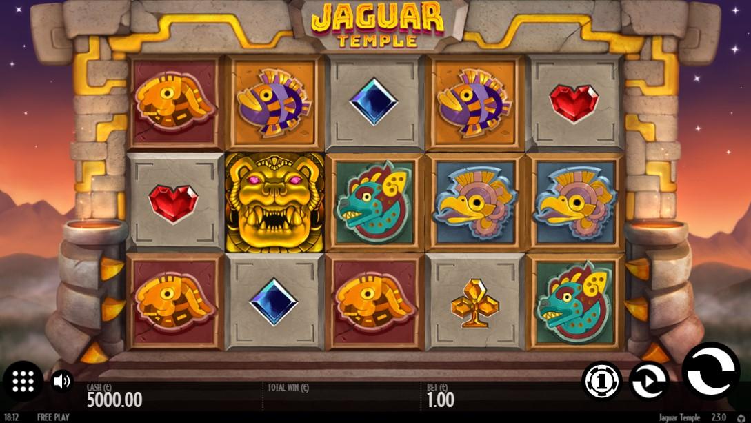 Играть бесплатно Jaguar Temple