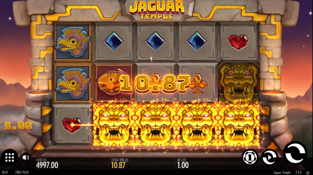Jaguar Temple бесплатный слот