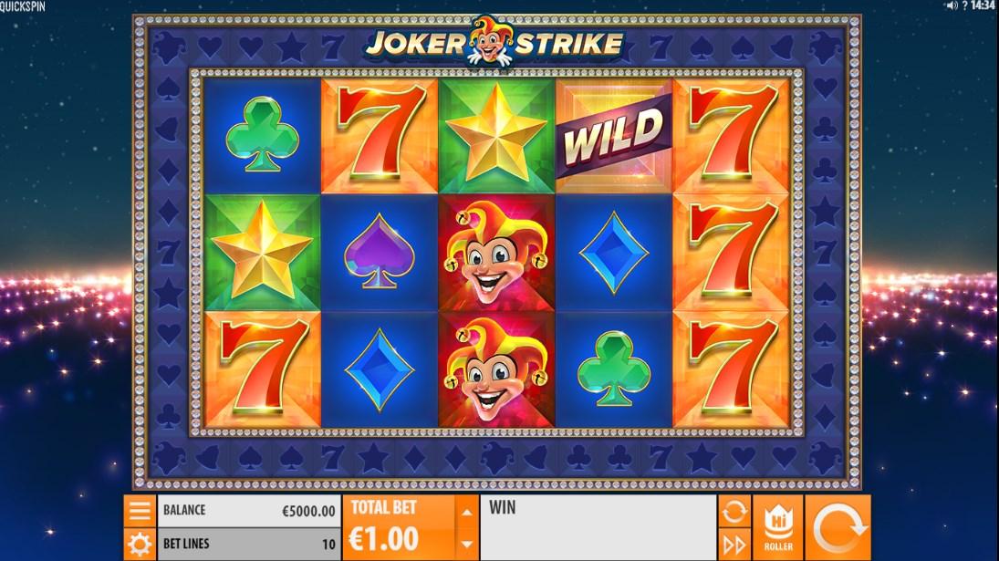 Бесплатный слот Joker Strike