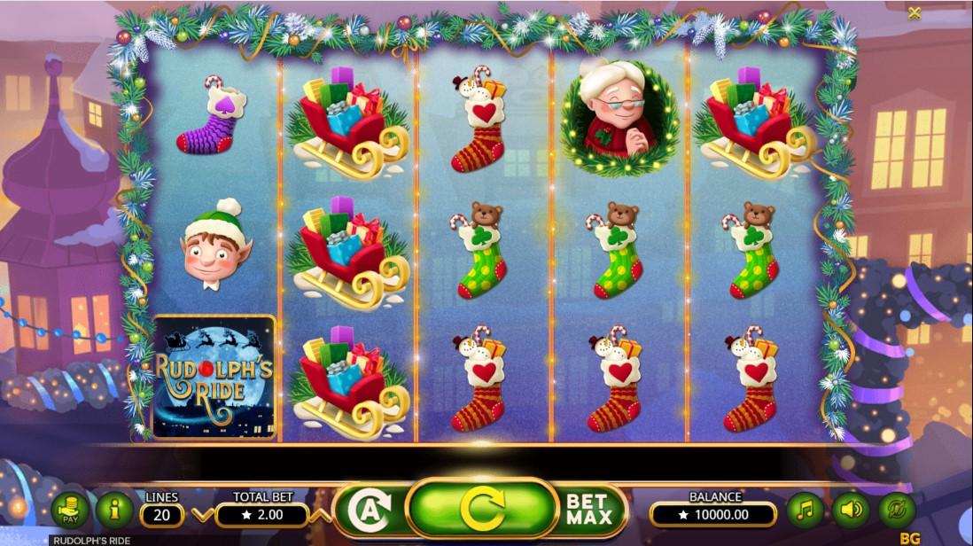 Rudolph's Ride играть бесплатно