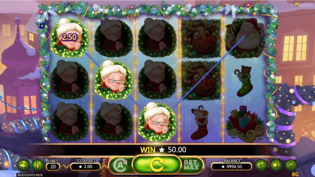 Rudolph's Ride игровой автомат