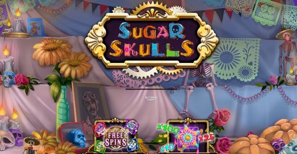 Играть бесплатно Sugar Skulls
