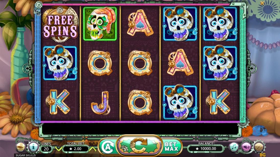 Игровой автомат Sugar Skulls