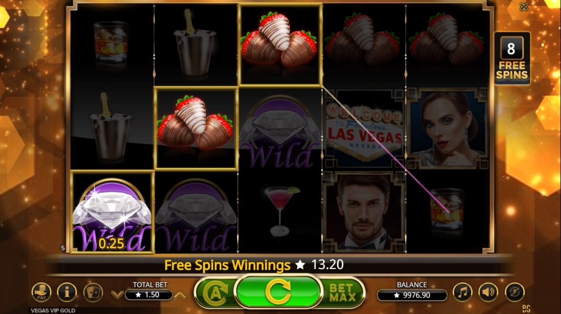 Vegas VIP Gold играть онлайн