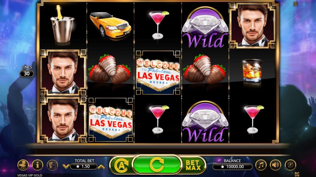 Играть бесплатно Vegas VIP Gold