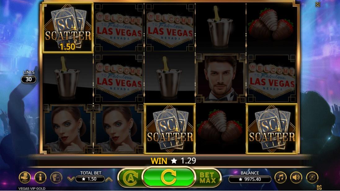 Vegas VIP Gold игровой автомат