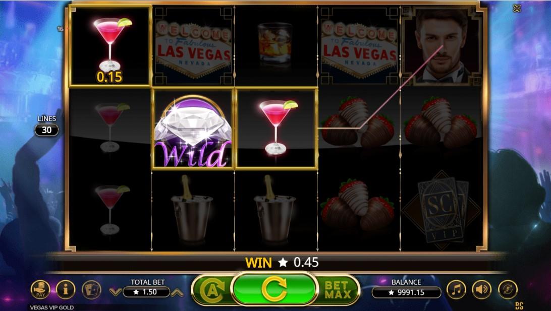 Слот Vegas VIP Gold играть