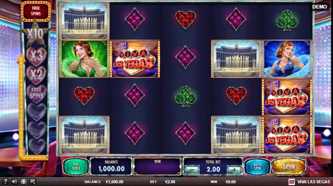 Слот Viva Las Vegas играть