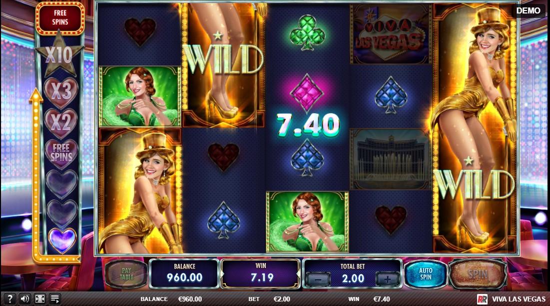Играть бесплатно Viva Las Vegas