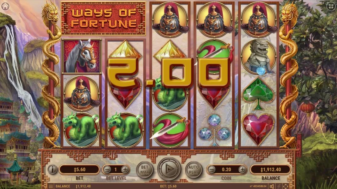 Ways of Fortune игровой автомат