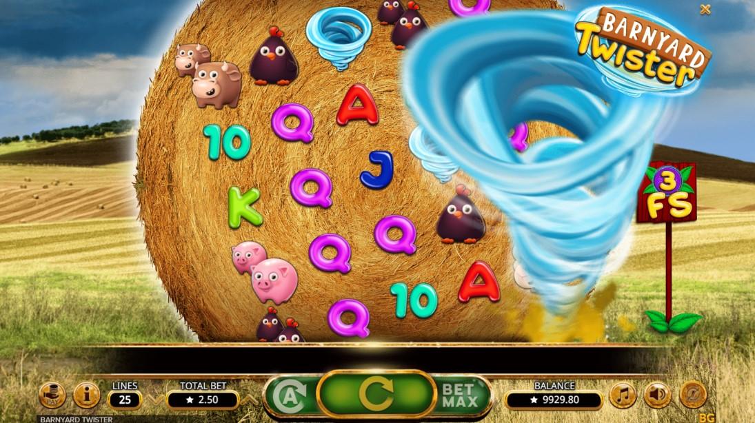 Barnyard Twister игровой автомат