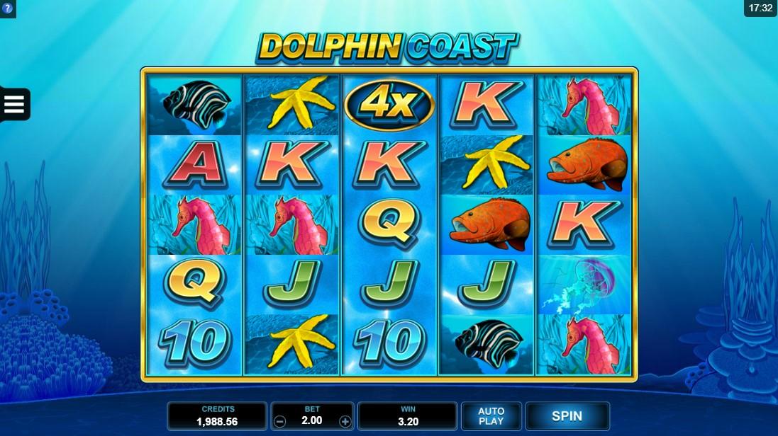 Слот Dolphin Coast играть