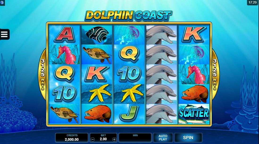 Играть бесплатно Dolphin Coast