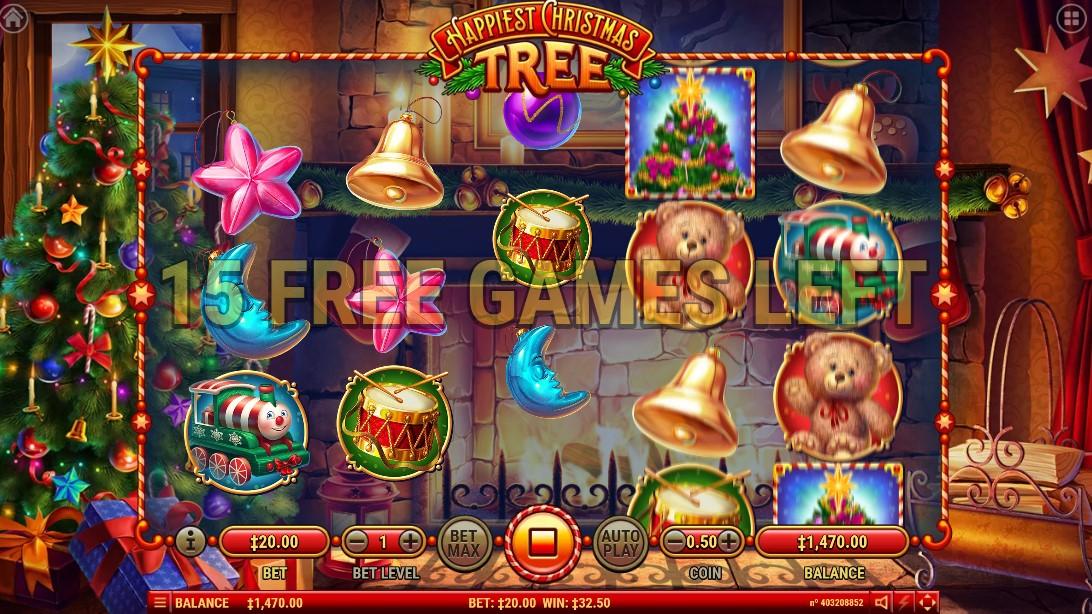 Happiest Christmas Tree игровой автомат