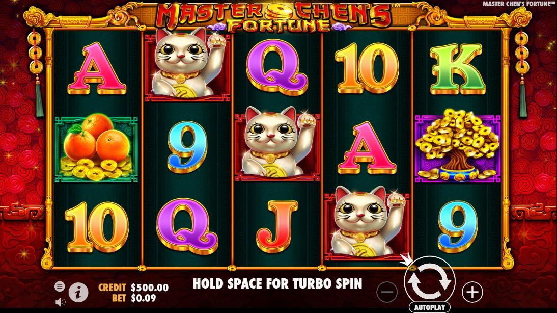 Играть онлайн Master Chen's Fortune