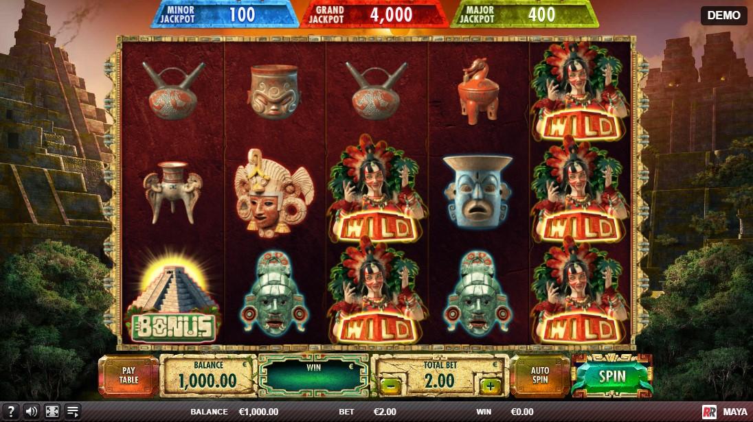 Игровой автомат Maya