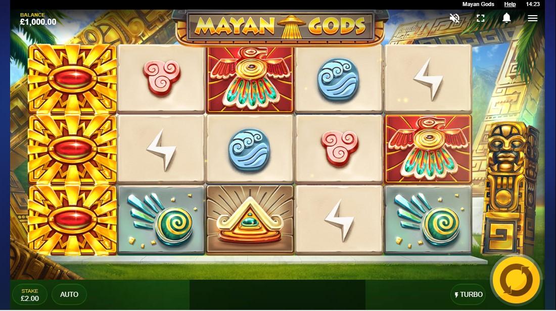 Бесплатный слот Mayan Gods