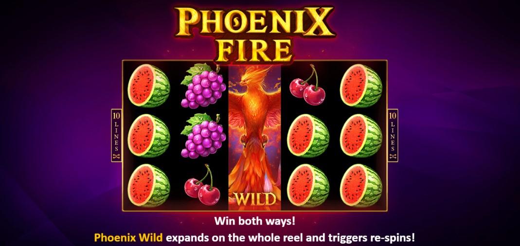 Играть бесплатно Phoenix Fire