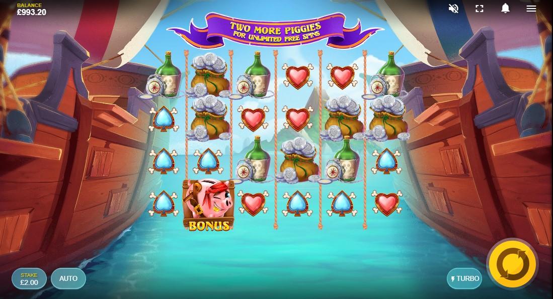 Piggy Pirates играть онлайн