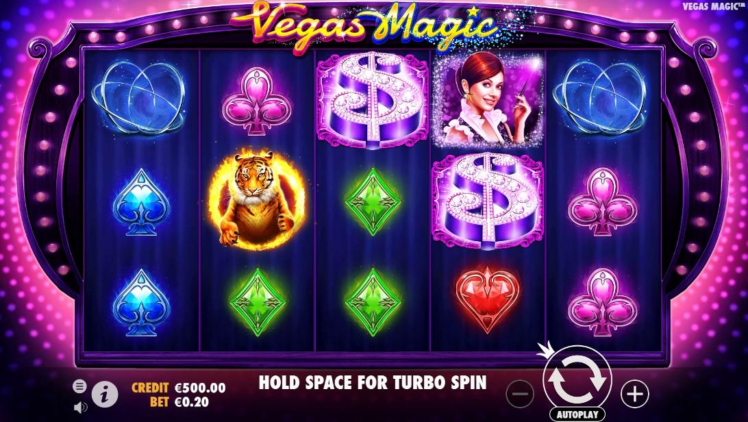 Играть бесплатно Vegas Magic