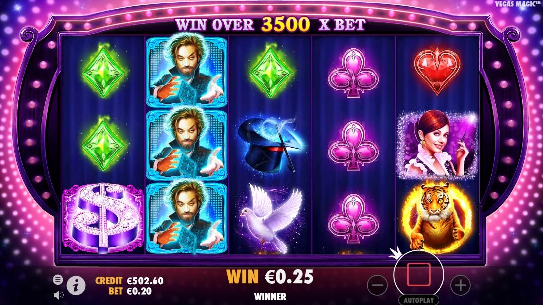 Vegas Magic игровой автомат
