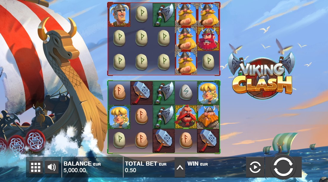 Играть онлайн Viking Clash