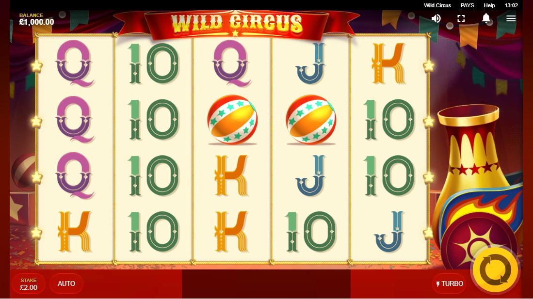 Wild Circus игровой автомат