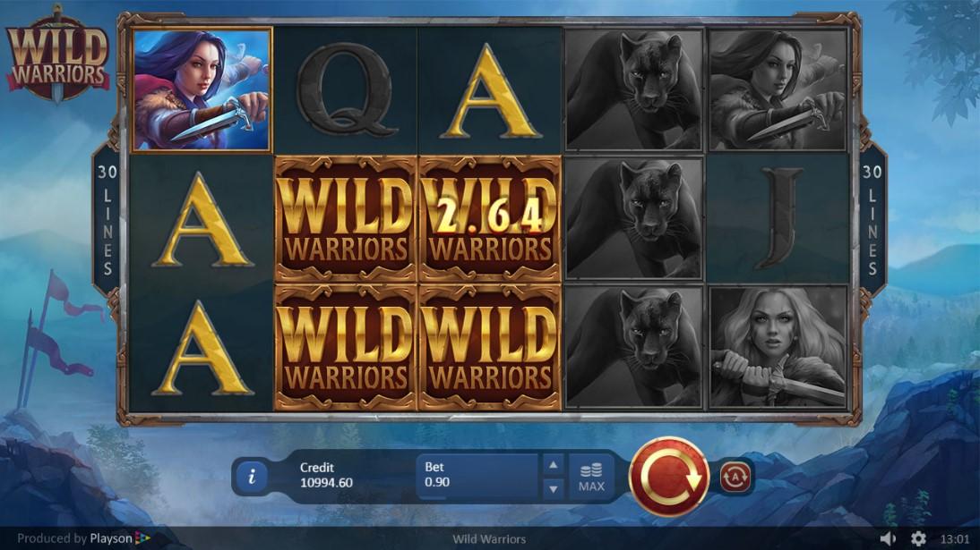 Бесплатный слот Wild Warriors
