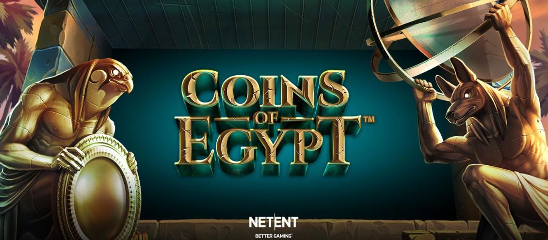 Играть Coins of Egypt бесплатно