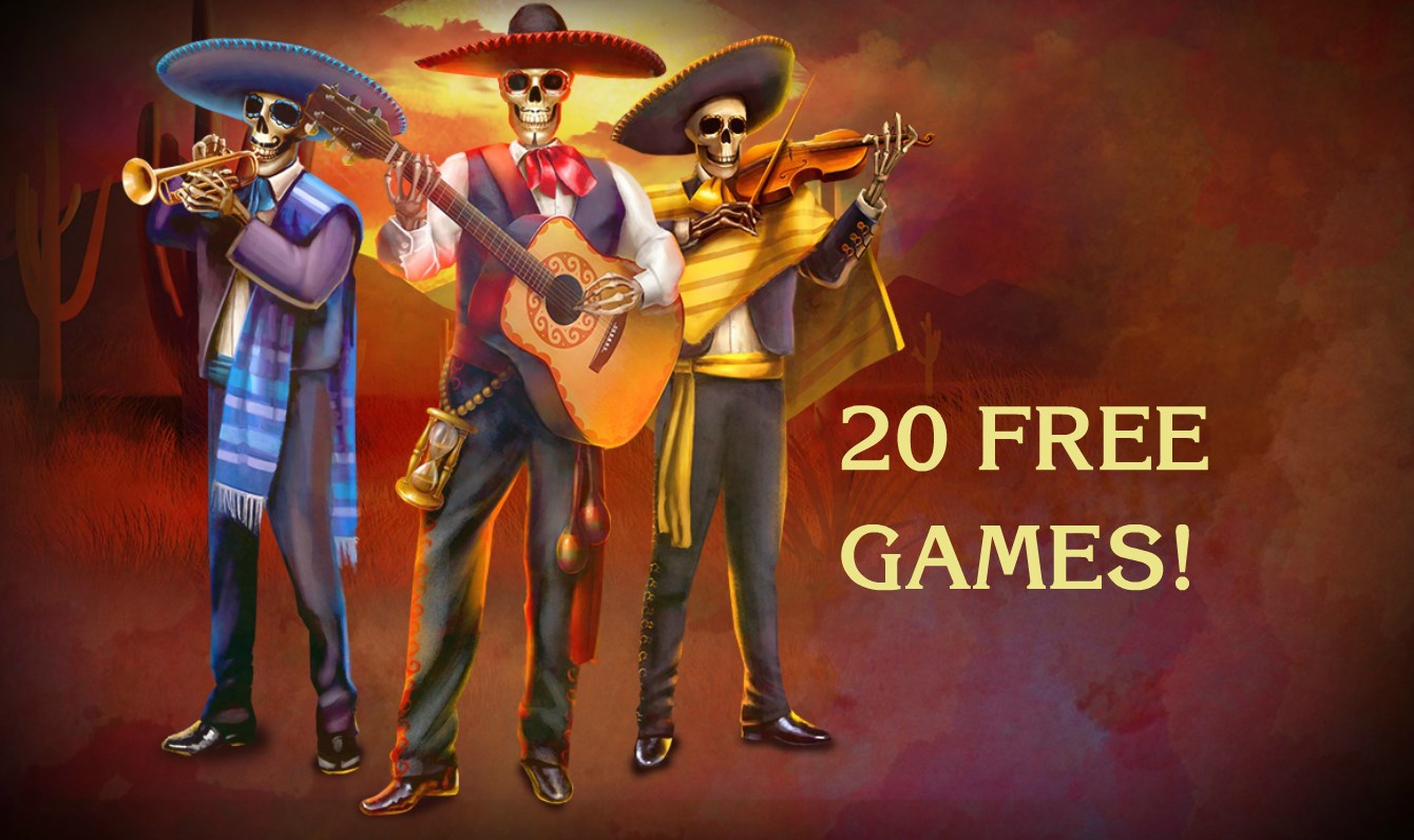 Играть бесплатно Dia de Los Muertos