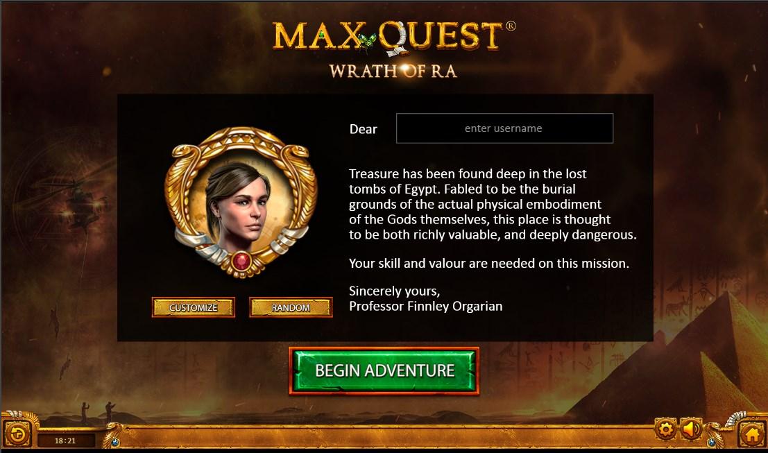 Играть без регистрации Max Quest