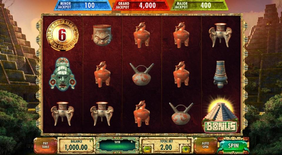Бесплатный игровой автомат Maya