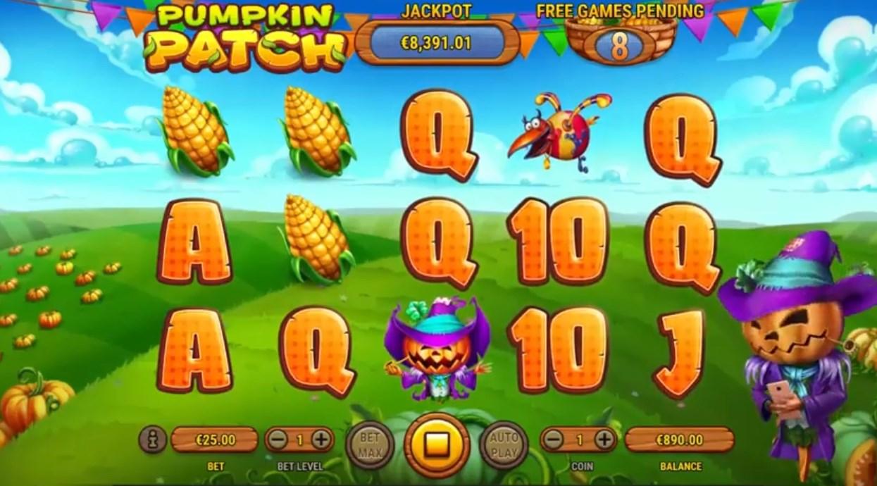 Играть без регистрации Pumpkin Patch