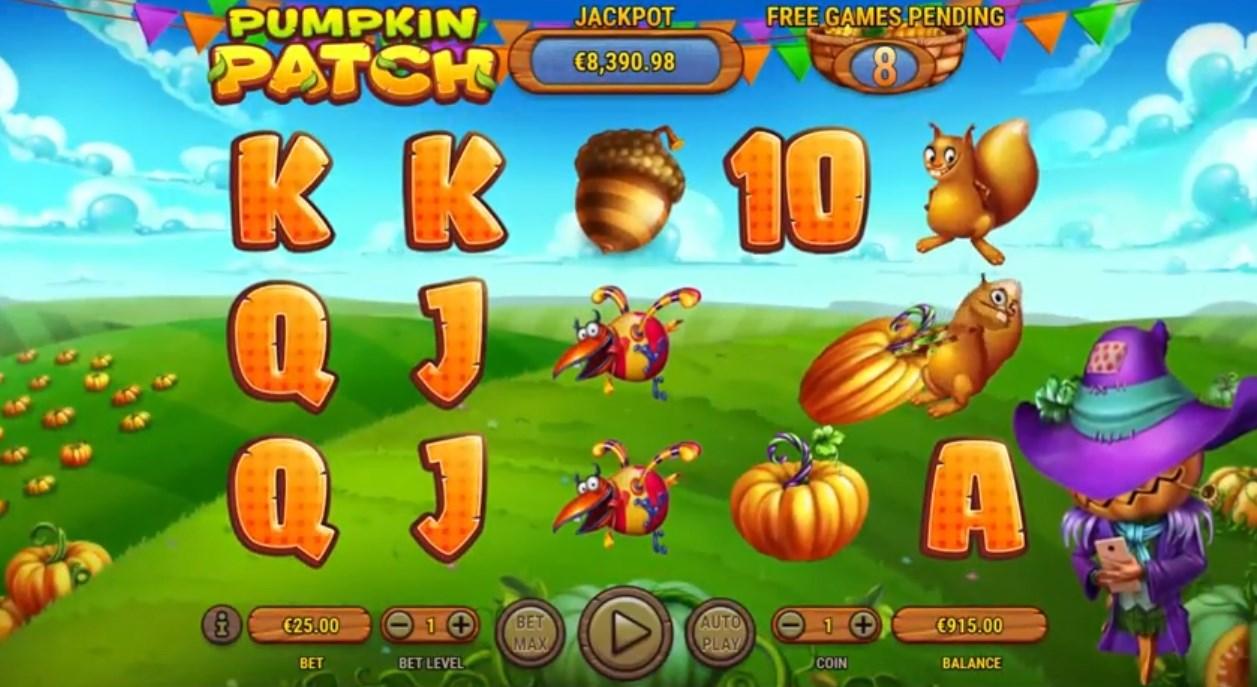 Pumpkin Patch играть бесплатно