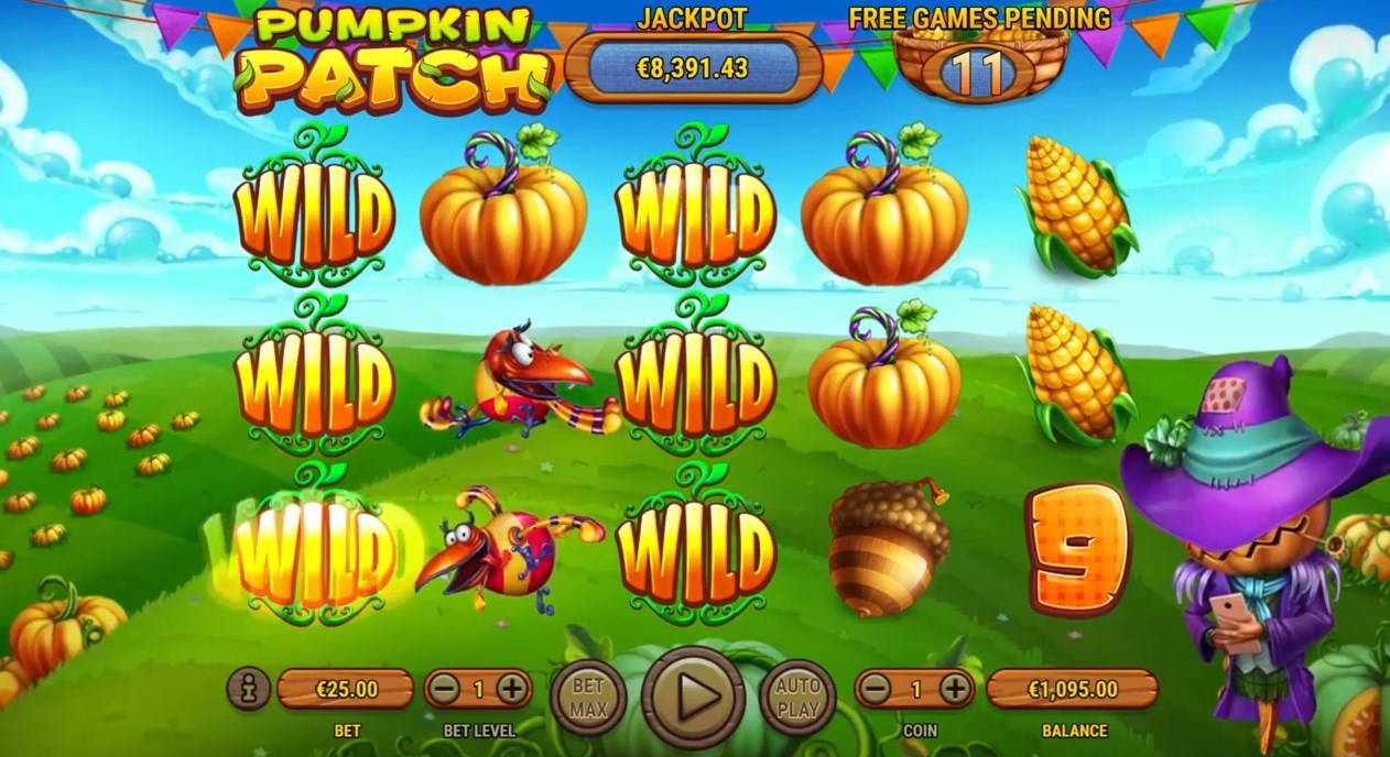 Бесплатный слот Pumpkin Patch