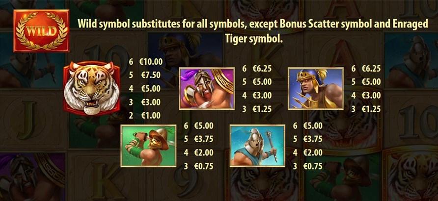 Бесплатный слот Tiger's Glory