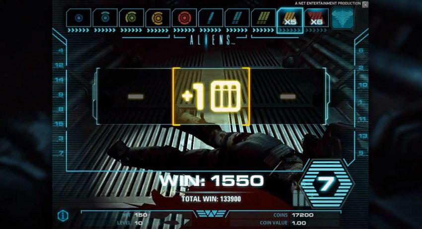 игровой автомат Чужие